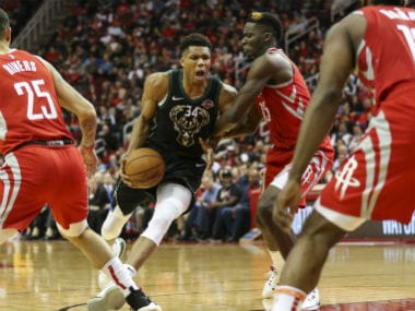 NBA: Giannis Antetokounmpo scores 27 points as Bucks down Rockets; Nets overcome 19-point first-half deficit to beat Hawks