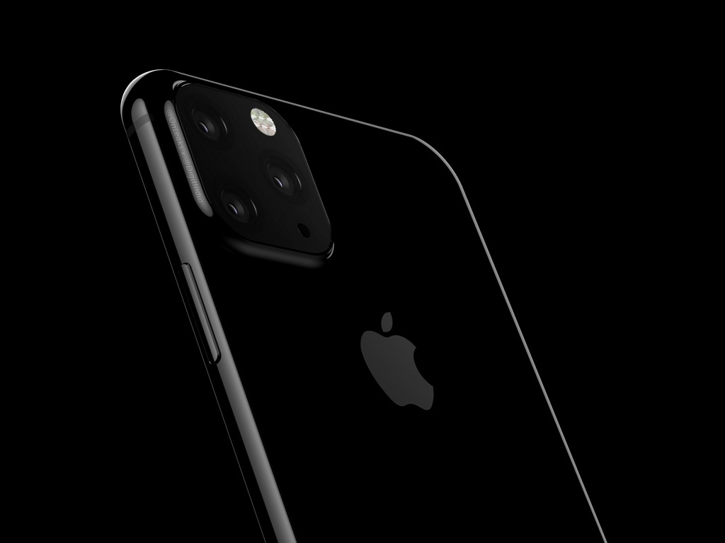 2019 iPhones controversial triple-camera lens design revealed in three new case leaks