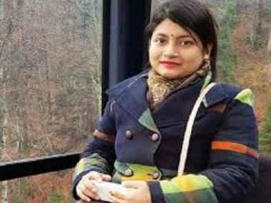 File photo of B Chandrakala. News 18