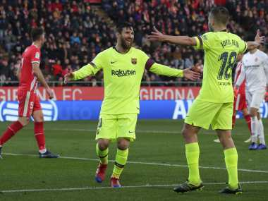 LaLiga: Barcelona see off Girona to restore five-point lead at the top; Ten-man Real Madrid floor Espanyol