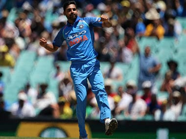 File picture of Bhuvneshwar Kumar. AP