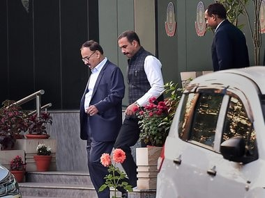 Alok Verma seen leaving from CBI headquarters, in New Delhi on 9 January. Verma was removed on charges of corruption and dereliction of duty during a Selection Committee meeting chaired by Prime Minister Narendra Modi,. PTI