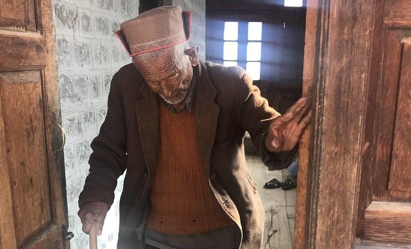 Negi at his home in Kalpa. Firstpost/Pragya Singh