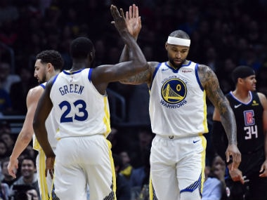 NBA: DeMarcus Cousins shines in much-anticipated Warriors debut to beat Clippers; Kyle Irving-led Celtics down Grizzlies