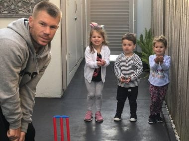 David Warner ends horror 2018 on high; wife Candice reveals the couple are expecting their third child