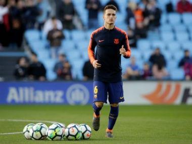 Premier League: Arsenal boss Unai Emery hopeful of signing Barcelona midfielder Denis Suarez, says club is working on it