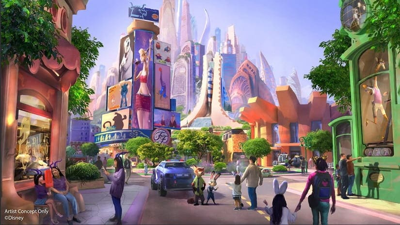 Zootopia-themed land to open in Shanghai Disneyland after groundbreaking run of animated film in China