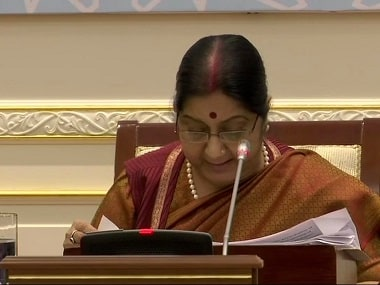 India committed to economic reconstruction of Afghanistan, says Sushma Swaraj; EAM reiterates stand on 'inclusive' peace process