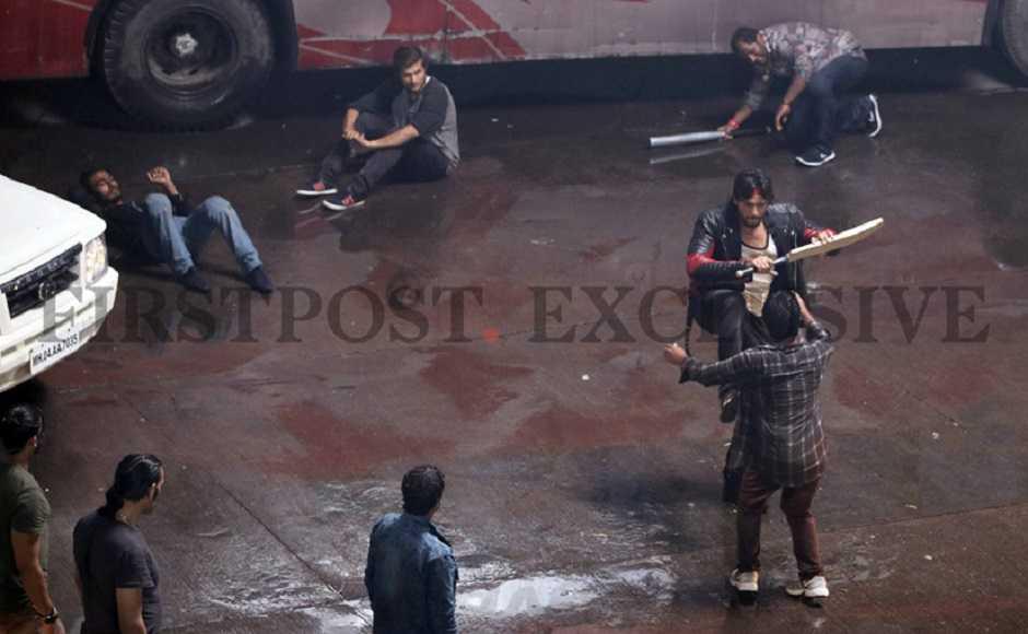 Sidharth Malhotra shoots for Milap Zaveri's drama Marjaavaan, also starring Tara Sutaria