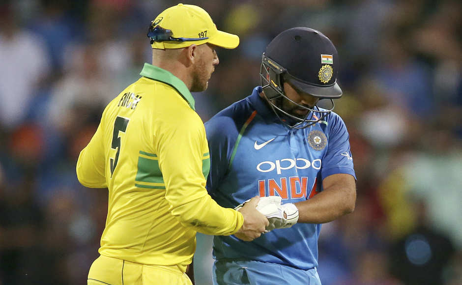 Rohit Sharma's 22nd ton goes in vain as India lose first ODI against Australia by 34 runs