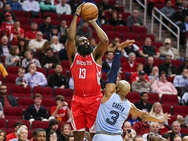 NBA: James Hardens season-high 57 points propels Rockets to win; DAngelo Russell leads Nets to victory against Celtics