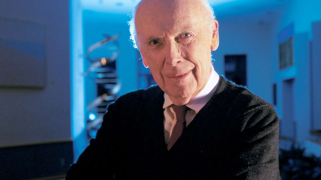 Nobel laureate Dr James Watson, Chancellor, Cold Spring Harbor Laboratory. Image: Wikimedia Commons