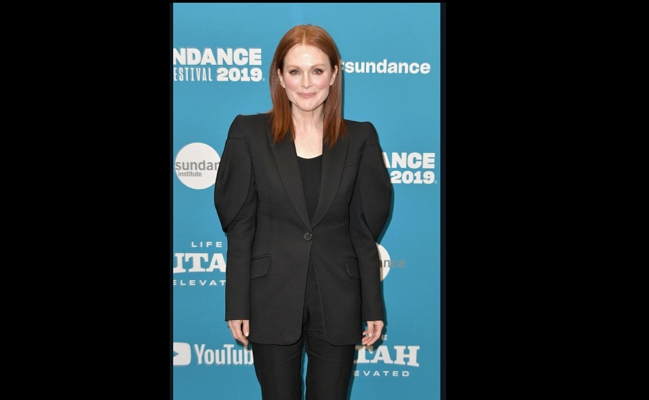 Julianne Moore attending the premiere of After The Wedding during Sundance Film Festival 2019 Source: Twitter- DivineJulianne