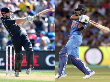 LIVE Cricket Score, India vs New Zealand, 1st ODI at Napier: Dhawan completes fifty as visitors inch closer