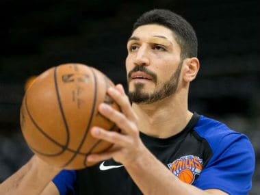 NBA: Knicks center Enes Kanter slams Turkish president Tayyip Erdogan over safety fears, says he is a target for speaking out