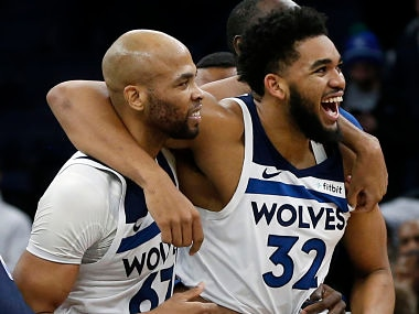 NBA: Karl-Anthony Towns buzzer-beater helps Timberwolves beat Grizzlies in overtime; Jaylen Brown leads Celtics to victory