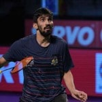Badminton Rankings: Kidambi Srikanth falls one place to eighth, PV Sindhu, Saina Nehwal's status remain unchanged