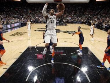 NBA: LaMarcus Aldridge tallies career-high 56 points as Spurs outgun Thunder in thriller; Heat hammer Celtics