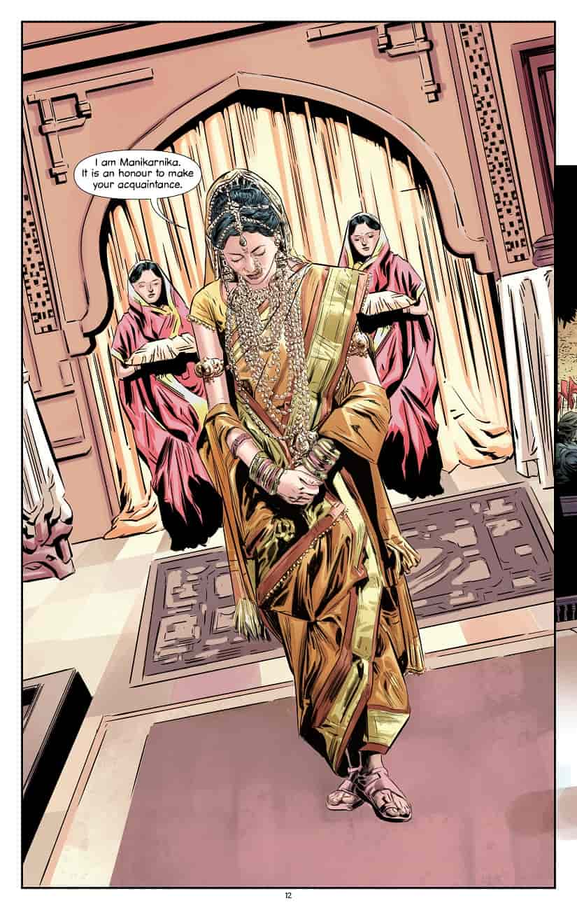 Queen of Jhansi: A graphic novel illustrates the key events in the life of Rani Laxmibai