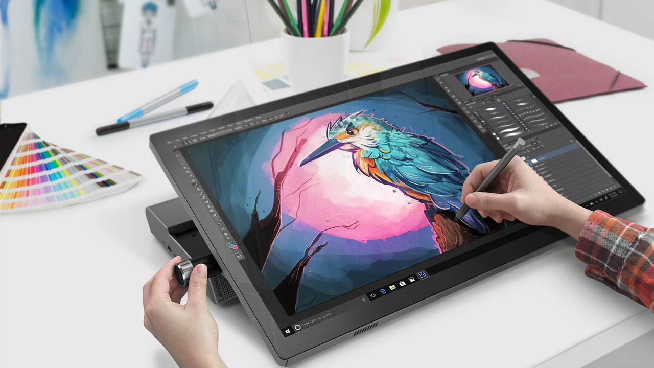 Yoga A940 priced from ,349 is Lenovos response to Microsofts Surface Studio
