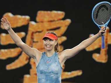 Australian Open 2019: Maria Sharapova stuns defending champion Caroline Wozniacki in epic three-set match