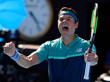 Australian Open 2019: Ice-cool Milos Raonic sails into the quarter-finals as Alexander Zverev implodes under pressure