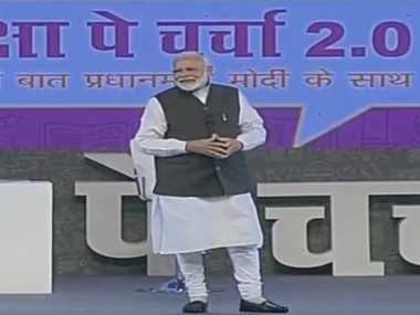 At Pariksha Pe Charcha 2.0, Narendra Modi says parents should not expect children to fulfil their own unfulfilled dreams