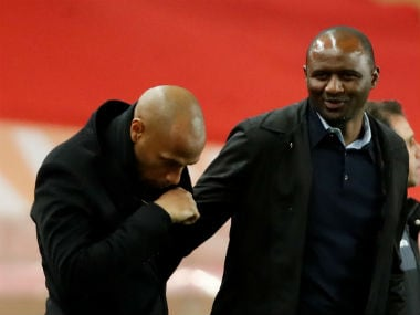Ligue 1: Thierry Henrys Monaco and Patrick Vieiras Nice play controversy-laden draw in clash of old teammates