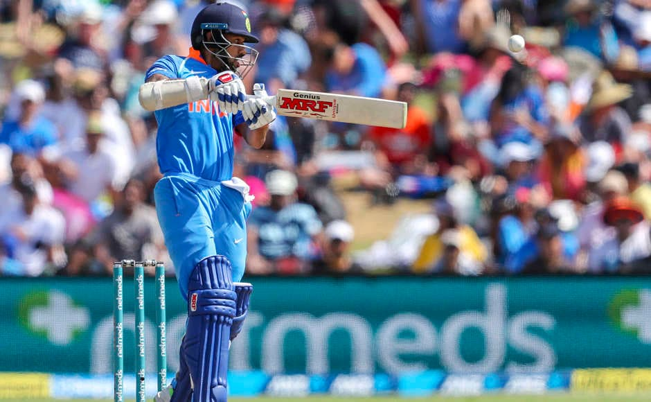 Shikhar Dhawan continued his good form from the other end. He scored 66 off 67 balls which included nine fours. AP