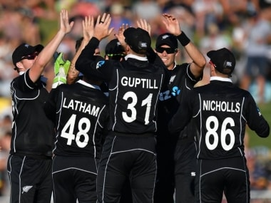 Black Caps will look to turn the tables against India at the Bay Oval during the second ODI. Image: Twitter @ICC