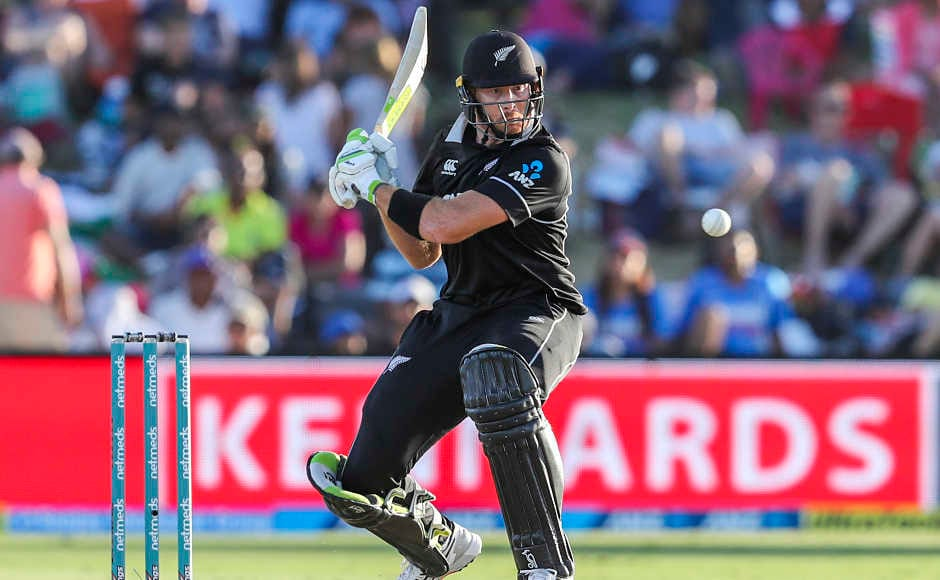 Martin Guptill got off to a shaky start as he got more than two reprieves at the start of the chase. But the luck did not last for long as he was gone for 15 soon off the bowling of Bhuvneshwar Kumar. AP