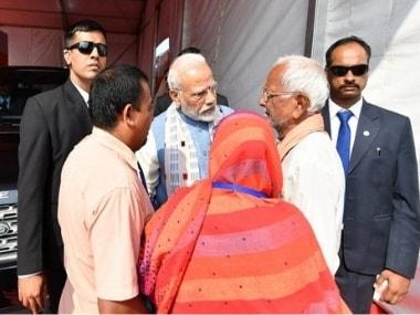 Narendra Modi meets relatives of Doordarshan scribe killed in Maoist attack in Chhattisgarhs Dantewada