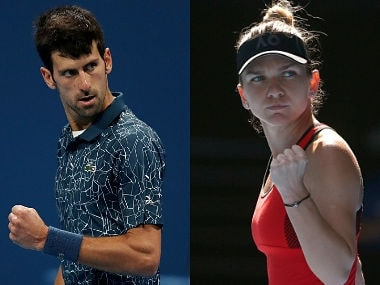 World No ones Novak Djokovic and Simona Halep are the top seeds at the Australian Open. Reuters