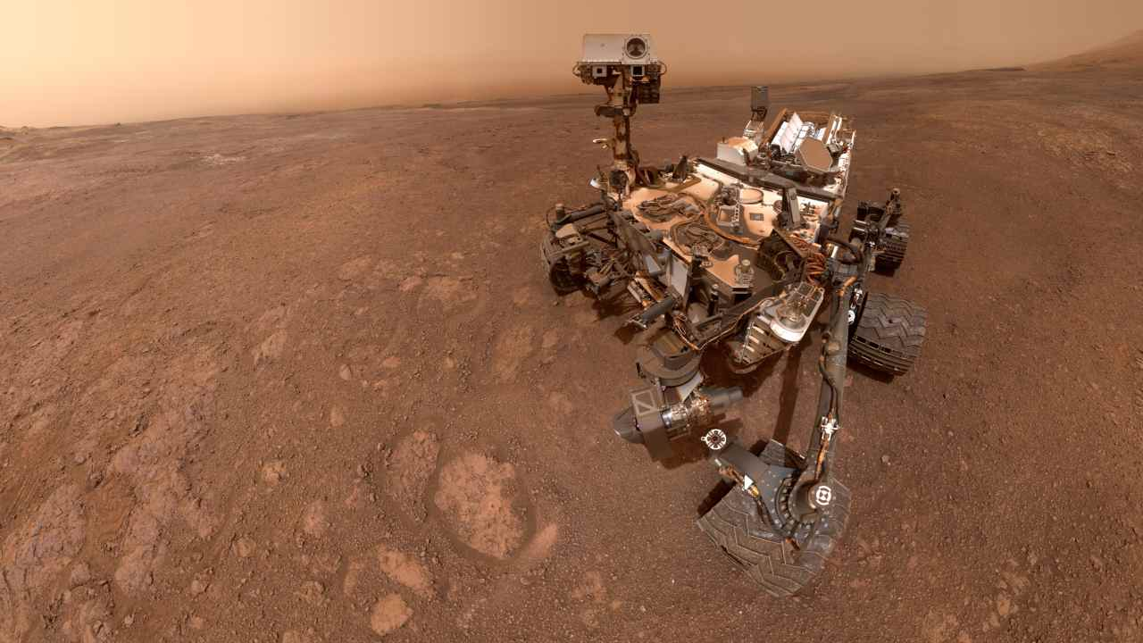 NASA's Curiosity landed on Mars in August 2012 and found evidence of a lake of water in Gale Crater on Mars. Right now Curiosity is the only active rover on Mars. Image courtesy: NASA/JPL