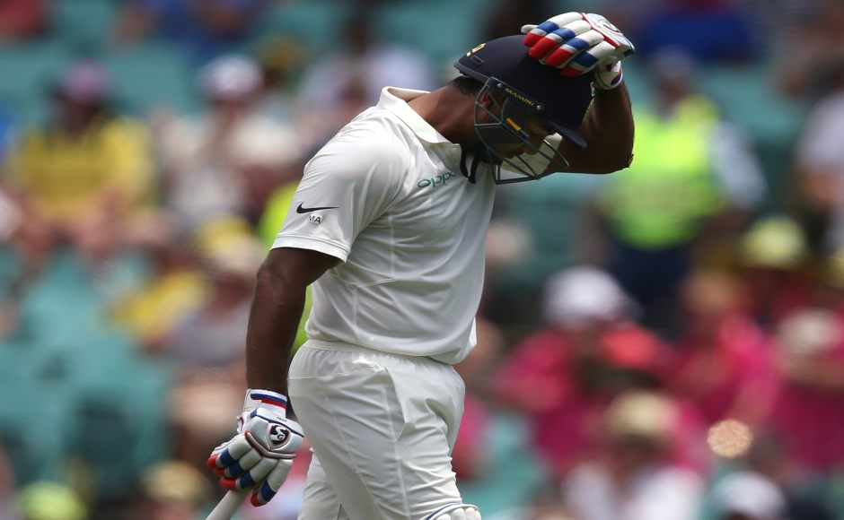 Mayank Agarwal yet again proved that Indian selectors missed a point when they did not pick him in the Test squad earlier for tour Down Under as he pelted another fifty in the series. Yet he would be upset with himself as he failed to convert the half-century into a hundred for second time in the series. AP
