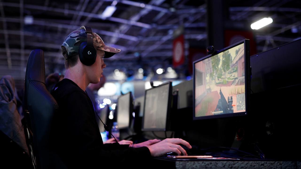 A gamer plays PlayerUnknown's Battlegrounds (PUBG). Reuters