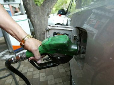 Petrol, diesel prices become slightly cheaper after remaining unchanged for six days; crude rises on Venezuela crisis
