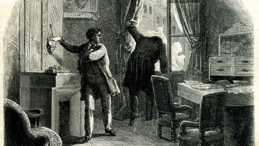 The Purloined Letter by Edgar Allan Poe. Image via WikimediaCommons