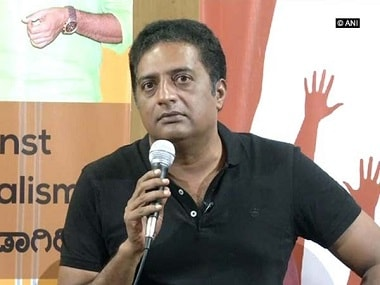 'None of them are honest': Actor Prakash Raj says he will never join any political party, wants to be voice of people