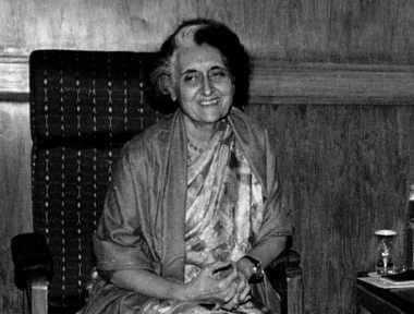 File photo of Indira Gandhi. Reuters
