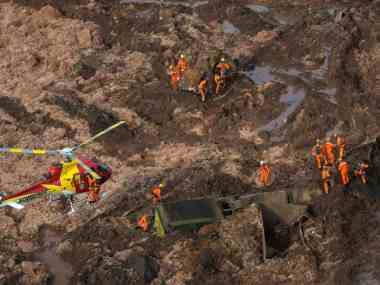 Brazil dam collapse: Nine bodies recovered; authorities say odds of finding 300 missing people alive are minimal