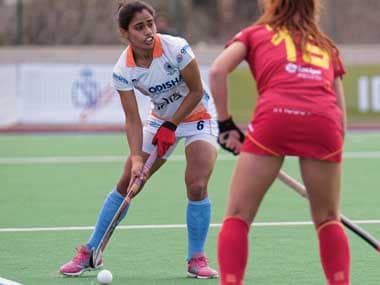 India womens hockey team record comprehensive 5-2 victory over World Cup bronze medallists Spain