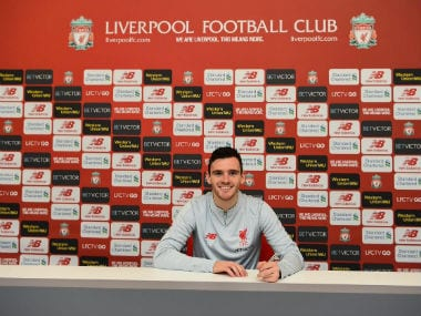 Premier League: Liverpool left-back Andy Robertson signs new long-term contract, aims to break title hoodoo this season
