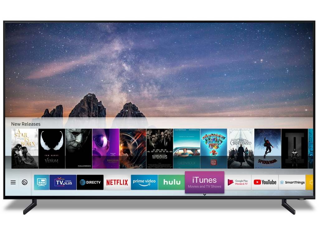 Samsung announces Smart TV support for Apple iTunes, AirPlay 2 at CES 2019