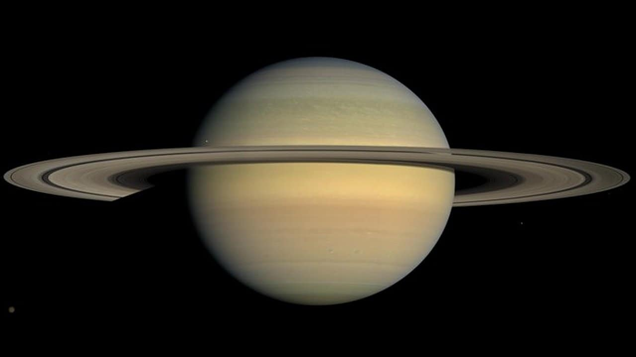 Saturn spent almost an entire existence solo, before getting its stunning rings