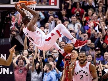 NBA: Serge Ibakas late dunk secures win for Raptors over Hawks; Nuggets Nikola Jokic scores triple-double to pip Heat