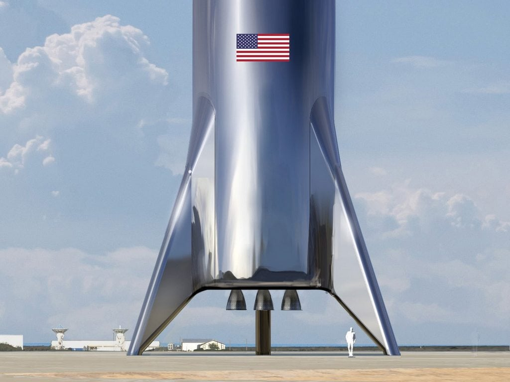Starship. Image: SpaceX