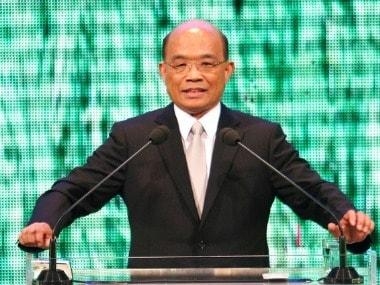 File image of Taiwan's new premier Su Tseng-chang. AP