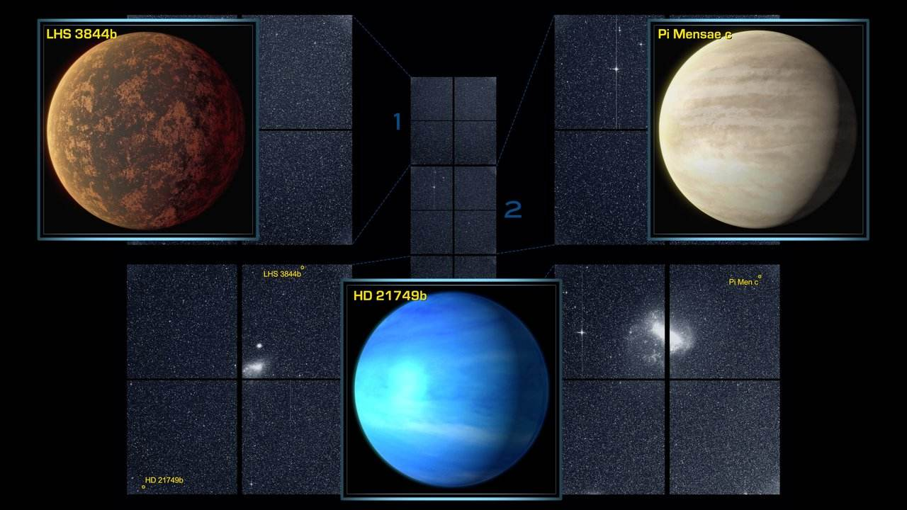 NASAs TESS planet-hunter discovers first Earth-sized exoplanet 53 light-years away