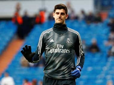 File image of Thibaut Courtois. Reuters